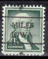 USA Precancel Vorausentwertung Preo, Locals Iowa, Miles 716 - Vereinigte Staaten