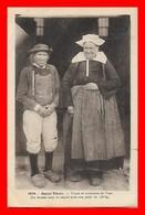 CPA (29) SAINT-THOIS.  Types Et Costumes Du Pays (la Femme Tient Le Record Avec Un Poids De 158 Kg)...B035 - Costumi