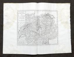 Nuova Carta Geografica Dei XIII Cantoni Degli Svizzeri - Albrizzi 1730 Ca. - Altri