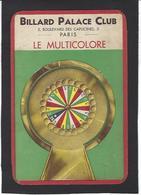 Billard Billiard Jeu Sport Voir Scan Du Dos - Cartoline