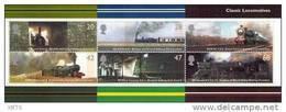 GREAT BRITAIN 2004 Classic Locomotives M/S - Blocks & Miniature Sheets