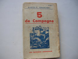 5 De Campagne - Weltkrieg 1914-18