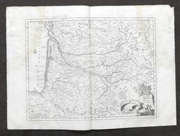 Carta Geografica Governo Di Guienna E Guascogna - Francia - Albrizzi 1730 Ca. - Altri