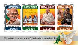 MOZAMBIQUE 2018 - M. Gandhi, M.L. King - Mi CV=25 €, 9559-62 - Martin Luther King