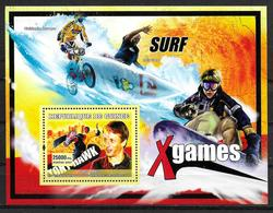 GUINEE  BF 461 * *   ( Cote 13e ) Skateboard Hawk - Skateboard
