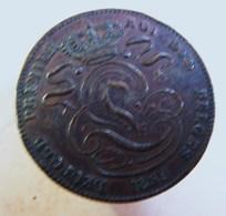 Monnaie. 14. Léopold Ier 5 Cent 1859. Très Belle Pièce. - 1831-1865: Leopold I