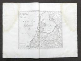 Nuova Carta Geografica Della Contea Di Olanda - Albrizzi 1730 Ca. - Altri