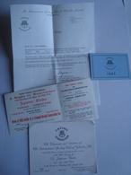 CASINO GIBRALTAR. JAPANESE GARDEN OPENING - BRITISH OVERSEAS TERRITORY, 1965. - Dépliants Touristiques