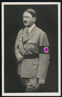 AK/CP Propaganda  Porträt  Hitler  Nazi   Ungel/uncirc.1933-45   Erhaltung/Cond. 1-/2  Nr. 00818 - Weltkrieg 1939-45
