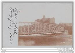 Halle / Saale.- (Carte  Photo)  Burg Giebichenstein  - (oblitération De 1908) - Halle (Saale)