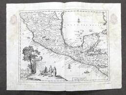 Carta Geografica Del Messico O Sia Della Nuova Spagna - Albrizzi 1730 Ca. - Altri