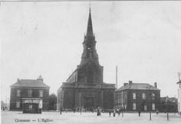 Cuesmes.   L'Eglise.   Scan - Bélgica