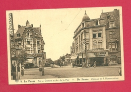 C.P. De Panne =  Zeelaan  En Dumont Straat - De Panne