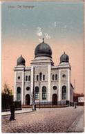 Jewish Synagoge Judaika.Liepaja Great Synagogue Kurshu Str. 11/13.LATVIA LETTLAND KURLAND 1915 - Jewish