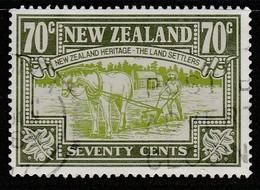 New Zealand 1989 New Zealand Heritage - The People 70 C Multicoloured SW 1094 O Used - New Zealand