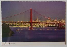 SAN FRANCISCO - Nighttime Magin In San Francisco,  Golden Gate -  Vg - San Francisco