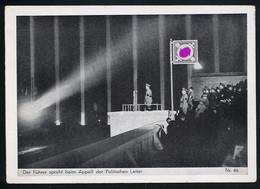 AK/CP Propaganda  Hitler  Reichsparteitag  Nazi   Ungel/uncirc.1933-45   Erhaltung/Cond. 2/2-  Nr. 00821 - Guerra 1939-45