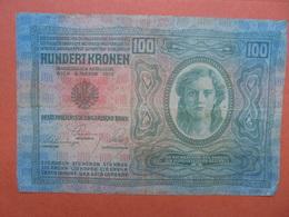 AUTRICHE 100 KRONEN 1912 CIRCULER (B.1) - Austria