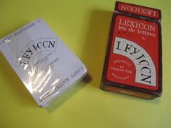"""Jeux De 52 Cartes /Lexicon/Jeu De Lettres/""""Miro Company Paris""""/Educatif/France /vers 1970-1980         CAJ21deux - Jeux De Société"""