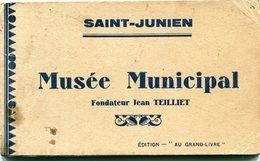 87 - Saint Junien : Carnet Du Musée Municipal - Saint Junien