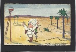 CPA Tire Bouchon Satirique Caricature Original Arcachon écrite - Humour