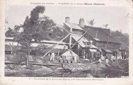 Rhumerie De La Pointe-des-Nègres. Angle Sup Droit Un Peu Froissé. - Fort De France