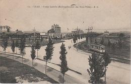 CPA AK Lille Croisé Laroche Embranchement Des Trois Villes Grand Boulevard Tram Tramway Mongy Roubaix Tourcoing 59 Nord - Lille