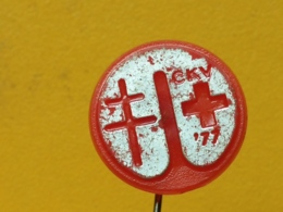 LIST 112- Red Cross, Croix Rouge, Plastic Pin, Yugoslavia  Tuberculose, Tuberculosis - Medical