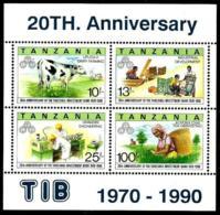 Tanzania HB-122 En Nuevo - Tanzania (1964-...)