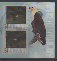 SOUTH AFRICA,2013, MNH, FISH EAGLE, EAGLES, HOLOGRAM S/SHEET, BEAUTIFUL - Arends & Roofvogels