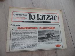 Journal Larzac Défense Du Larzac Gardarem  Lo Larzac N°28 Décembre 1977 - Languedoc-Roussillon