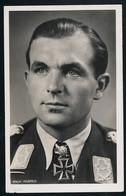 Foto AK/CP Luftwaffe Ritterkreuzträger  Major Ihlefeld  Hoffmann  Ungel/uncirc.1933-45   Erhaltung/Cond. 2-  Nr. 00823 - War 1939-45