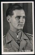 Foto AK/CP Ritterkreuzträger Hauptmann Marsaeille   Hoffmann  Ungel/uncirc.1933-45  Erhaltung/Cond. 2  Nr. 00827 - War 1939-45