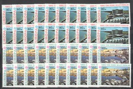 BB330 1977 TURKISH CYPRUS EUROPA CEPT ARCHITECTURE HARBOUR SHIPS 20SET MNH - Europa-CEPT