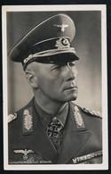 Foto AK/CP Ritterkreuzträger GFM  Rommel   Hoffmann  Ungel/uncirc.1933-45  Erhaltung/Cond. 2/2-  Nr. 00829 - Guerra 1939-45