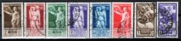 Africa Orientale Italiana 1938 Sass.21/26+A14/15 O/used VF/F - Africa Oriental Italiana