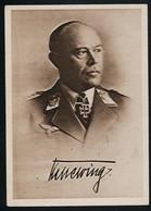 AK/CP Ritterkreuzträger GFM  Kesselring  Ungel/uncirc.1933-45  Erhaltung/Cond. 2  Nr. 00830 - Guerra 1939-45