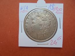 U.S.A 1$ 1900 ARGENT JOLIE QUALITE ! - 1878-1921: Morgan