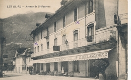 CPA - France - (65) Hautes Pyrénées - Luz - Avenue De St-Sauveur - Luz Saint Sauveur