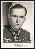 Foto AK/CP Ritterkreuzträger Rolf Rocholl   Ungel/uncirc.1933-45  Erhaltung/Cond. 1-/2  Nr. 00831 - Guerra 1939-45