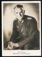 Foto AK/CP Ritterkreuzträger Walter Eggemann   Ungel/uncirc.1933-45  Erhaltung/Cond. 1-/2  Nr. 00832 - Guerre 1939-45