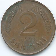 Latvia - 1st Republic - 2 Santimi - 1939 (KM11) - Latvia