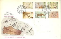FDC 1982 ZIMBAUWE - Prehistoria