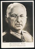 Foto AK/CP Ritterkreuzträger  GFM  Von Manstein   Ungel/uncirc.1933-45  Erhaltung/Cond. 2  Nr. 00833 - Guerra 1939-45