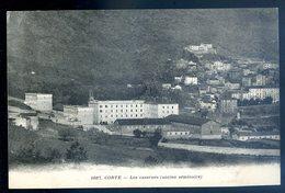 Cpa De Corse Corte Les Casernes ( Ancien Séminaire ) JM8 - Corte