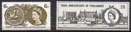 GREAT BRITAIN 1965 700th Anniversary Of Parliament (ordinary) - 1952-.... (Elizabeth II)