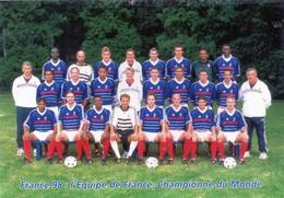 Cpsm  èqui.....de France-1998 Championne Du Monde De  Football - Fútbol