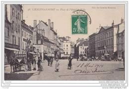 71)  Chalon  Sur  Saône.- Place De L´Hôtel De Ville - Chalon Sur Saone