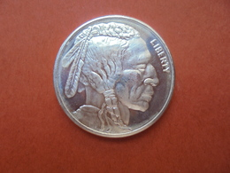 """U.S.A """"BUFFALO"""" 1 ONCE ARGENT PUR 999/1000 - Collections"""