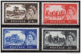 GREAT BRITAIN 1967 Castles High Value Definitives - 1952-.... (Elizabeth II)